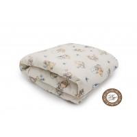 Одеяло Лебяжий пух 150 гр поплин ( детское )
