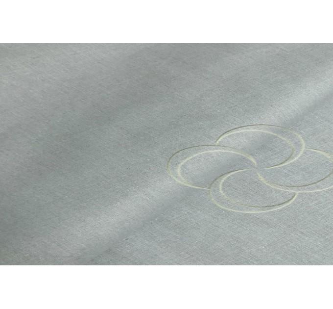 Простыня серый ( поплин )